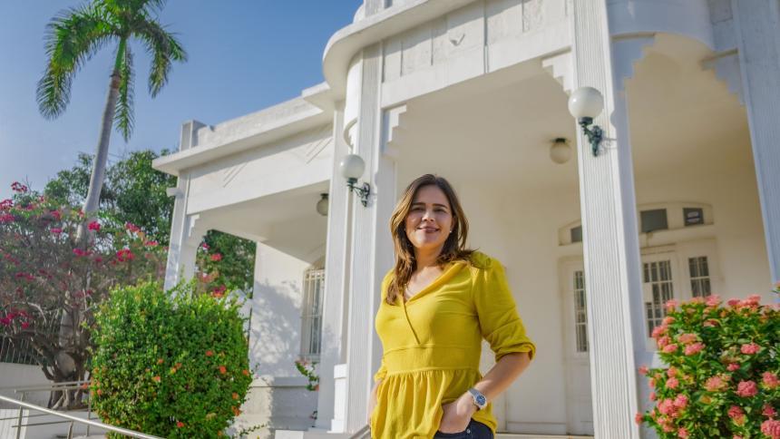 María Teresa Fernández, secretaria de Cultura y Patrimonio de Barranquilla, afirma que el 2020 fue un año de aprendizajes para todos.