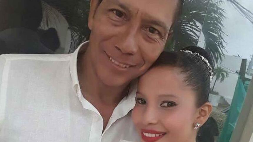 Teófilo Álvarez y Diana Patricia Padilla Vásquez.