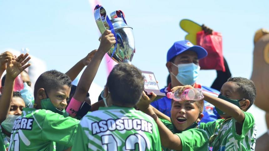 Asosucre sumó su tercer título en la Caribe Champions