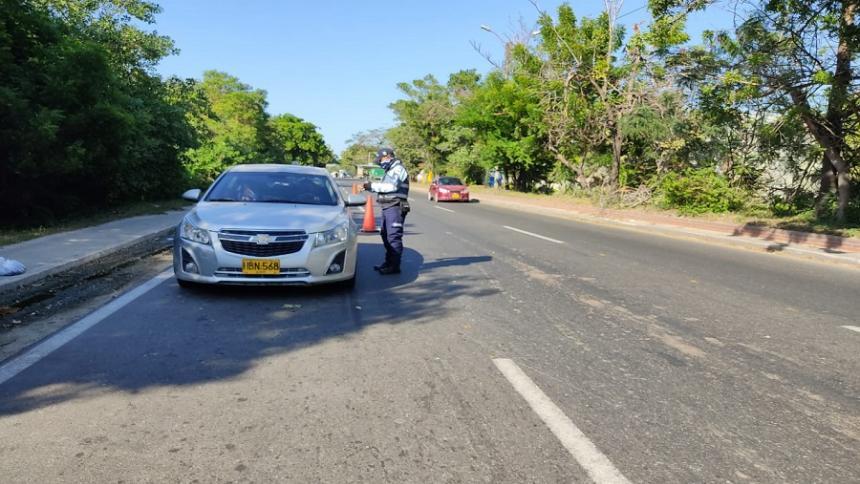 En un 65% se redujo la accidentalidad durante el puente festivo en Soledad