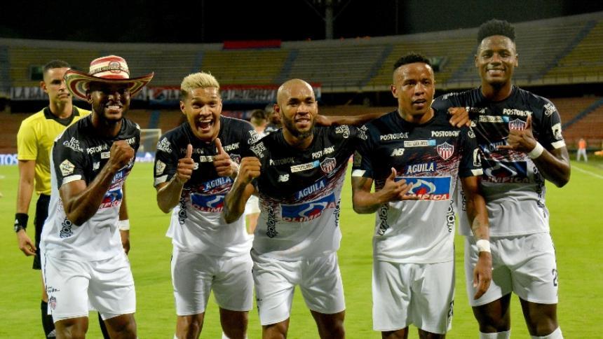 Miguel Borja, Teófilo Gutiérrez, Freddy Hinestroza, Jhon Pajoy y Dany Rosero.