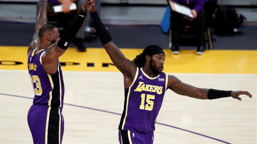 Los Lakers vencieron en el Staples Center por 112-95 a los New Orleans Pelicans.