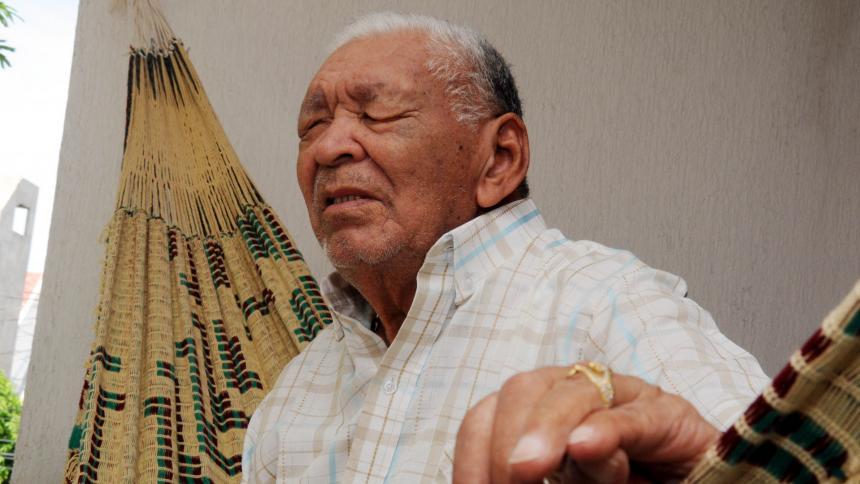 El compositor Leandro Díaz es una leyenda de la música vallenata.