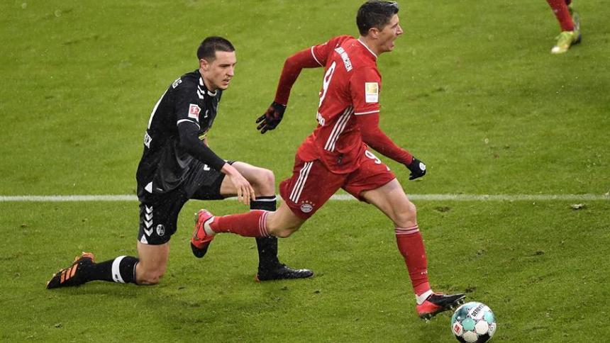 Bayern Múnich, ganador de la Liga de Campeones de la UEFA.