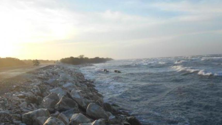 Piden Calamidad Pública en el Km 19 para contener la nueva erosión