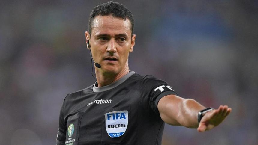 Wilmar Roldán, árbitro colombiano.