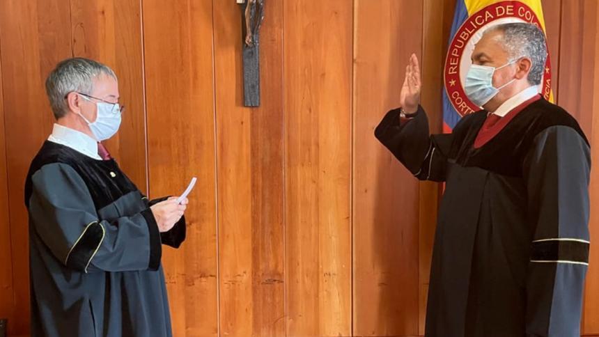 Luis Antonio Hernández, nuevo presidente de la Corte Suprema