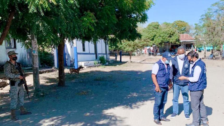 Defensoría del Pueblo hizo presencia en El Salado.