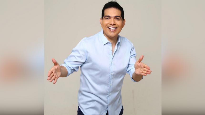 Peter Manjarrés, cantante de música vallenata.
