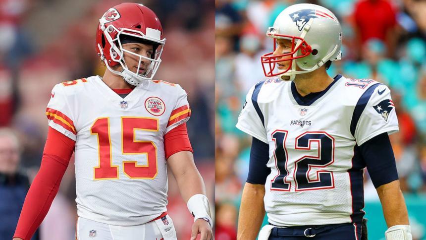 Patrick Mahomes vs. Tom Brady.