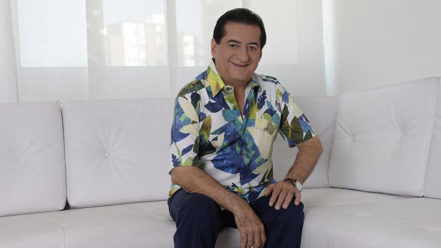 Jorge Oñate, de 70 años, lucha por su vida.