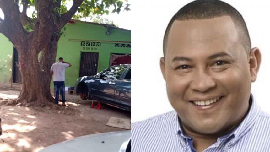 A bala asesinan a exconcejal de Chiriguaná en Valledupar