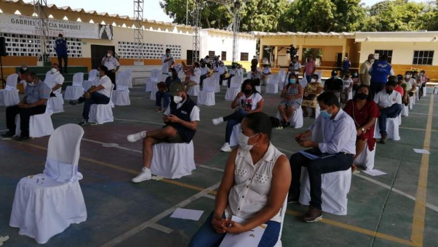 Formalizan la propiedad de 2020 predios en Aracataca y Pueblo Viejo