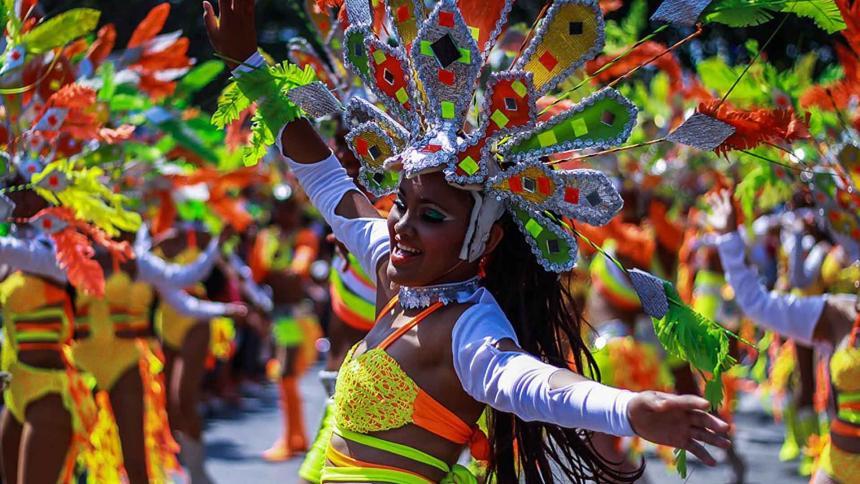 El recorrido carnavalero del suroccidente se vivió desde casa