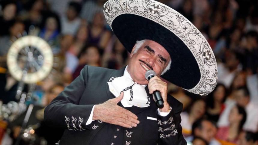 Cantante mexicana denuncia a Vicente Fernández por abuso sexual