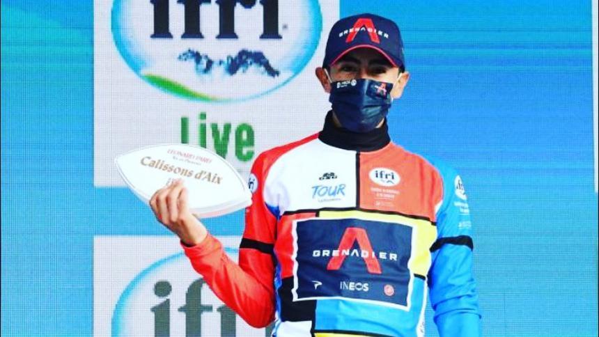 Iván Sosa, compañero de Egan Bernal en el Ineos, se coronó campeón del Tour de Provenza.
