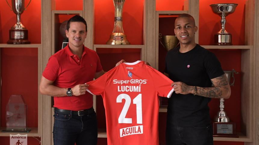 Lucumí consiguió el ascenso a primera división en 2016 con los 'Diablos Rojos' .