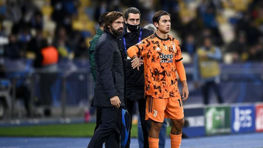 Pirlo habló sobre la lesión y la recuperación de Dybala.