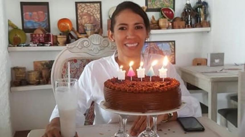 María Estela Gómez, corozalera de 44 años, reportada como desaparecida en Estados Unidos.