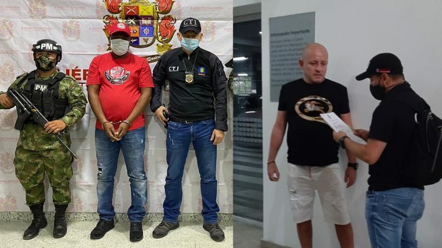 Caen 'Chepe' y 'Mono Dago', pedidos en extradición por Estados Unidos