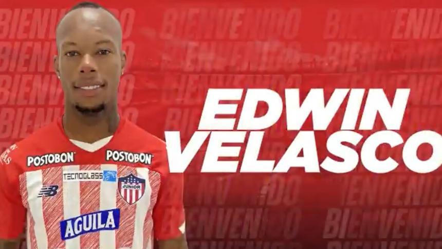 Junior presenta a Edwin Velasco, pero sigue lesionado