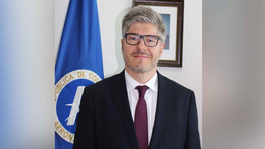 Director de la Aerocivil es el nuevo secretario general de la Oaci