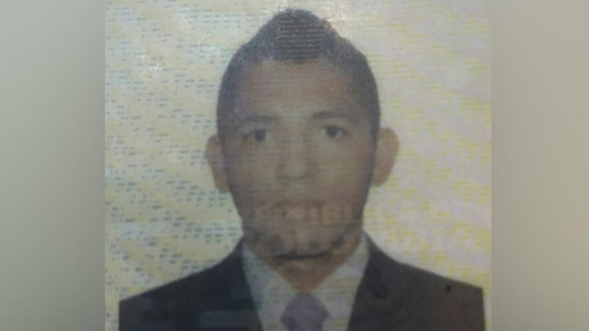 Daniel José Méndez Palencia, asesinado.