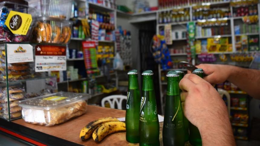 Una tienda de barrio en Barranquilla.