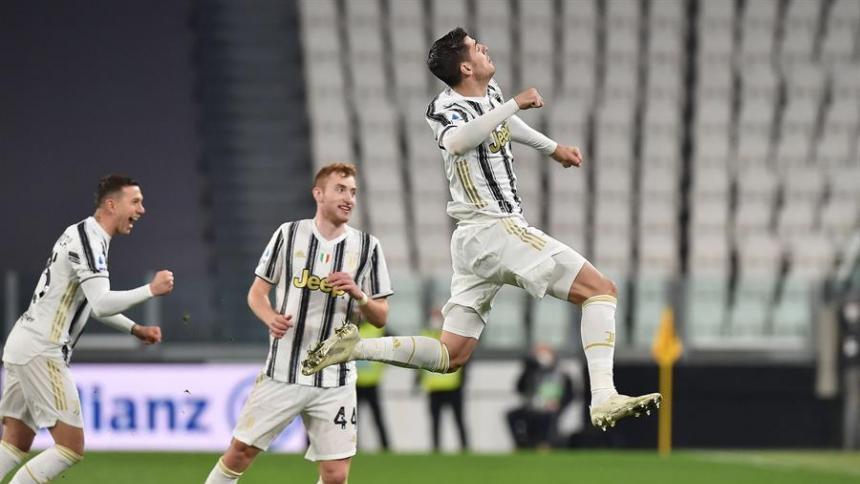 El Juventus se ubica de tercero en la Serie A italiana.