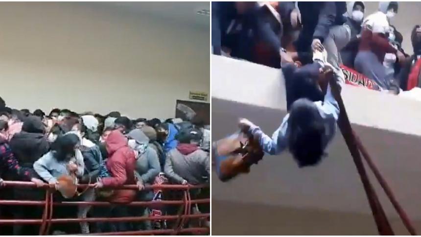 Mueren 7 jóvenes al caer del cuarto piso de una universidad