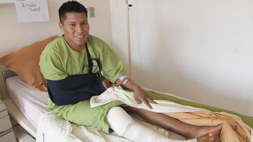 Sobreviviente de accidente del Chapecoense vuelve a esquivar la muerte