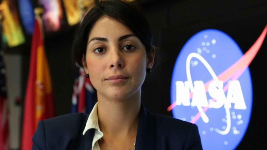 Diana Trujillo, líder de la misión Curiosity de la NASA a Marte.