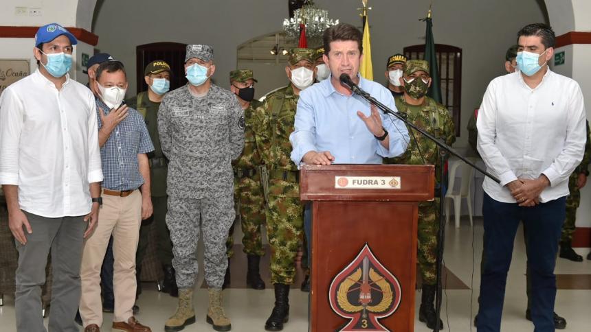 600 hombres del CONAT al Catatumbo