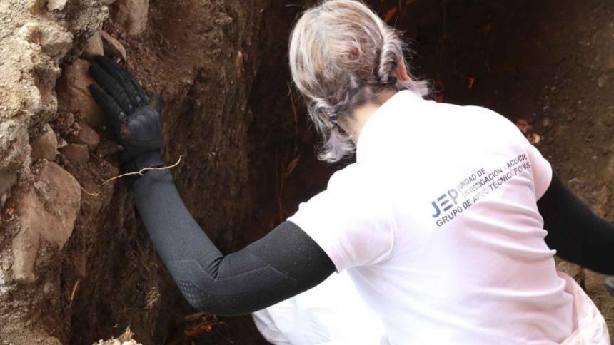 La JEP retoma exhumaciones en Dabeiba, Antioquia