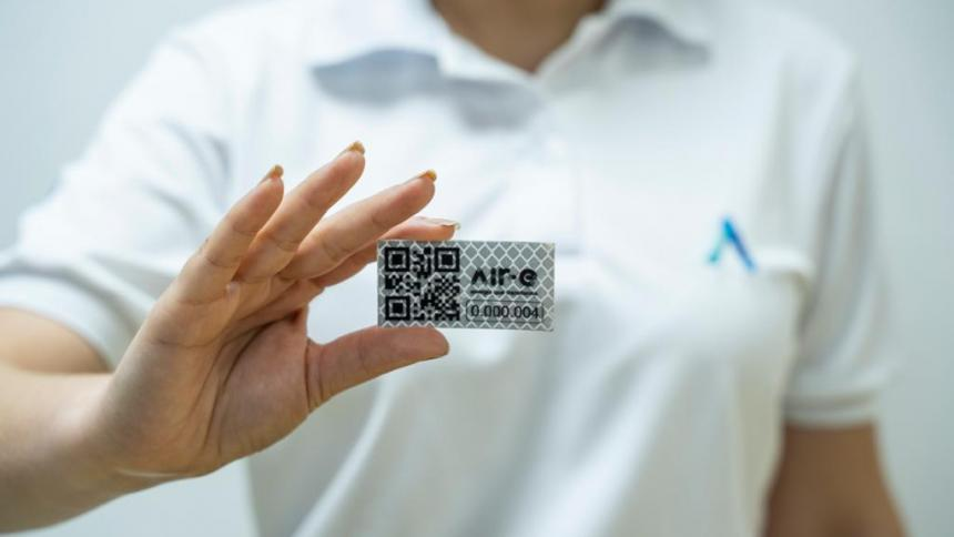 Air-e avanza con instalación de etiquetas QR para lectura de medidores