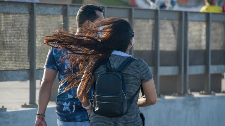 Nueva alerta roja por fuertes vientos en Barranquilla