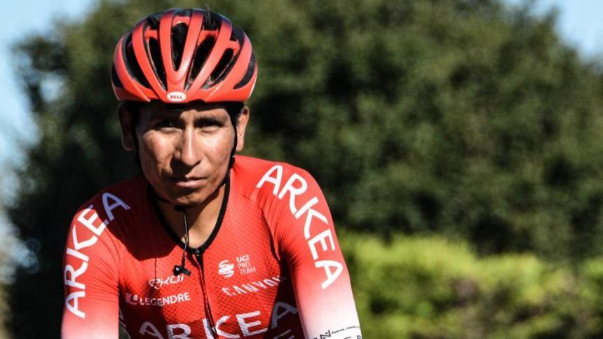 """Nairo Quintana llega a la Tirreno Adriático """"lleno de motivación"""""""