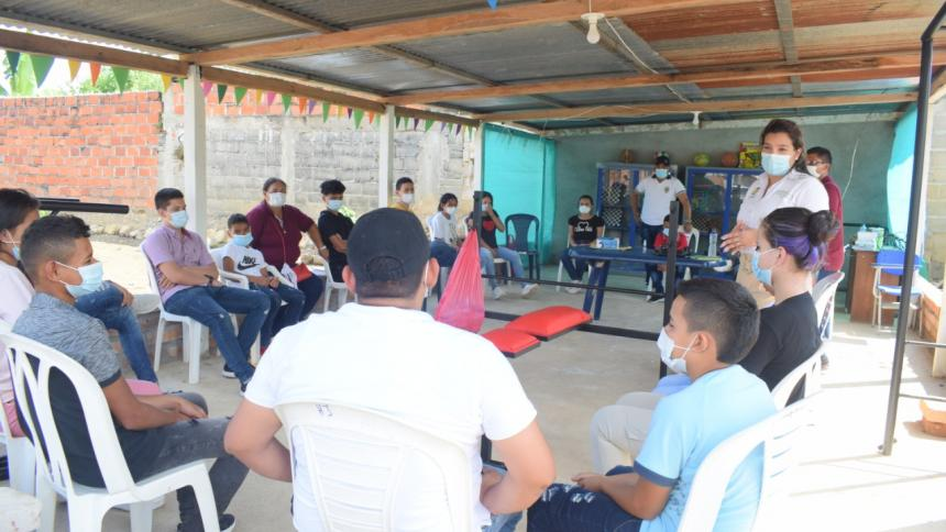Arrancó alternancia educativa en hogar juvenil en Sur de Bolívar