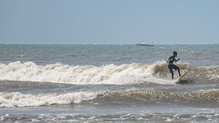Alerta Dimar: brisas fuertes seguirán en la Costa en las próximas 48 horas