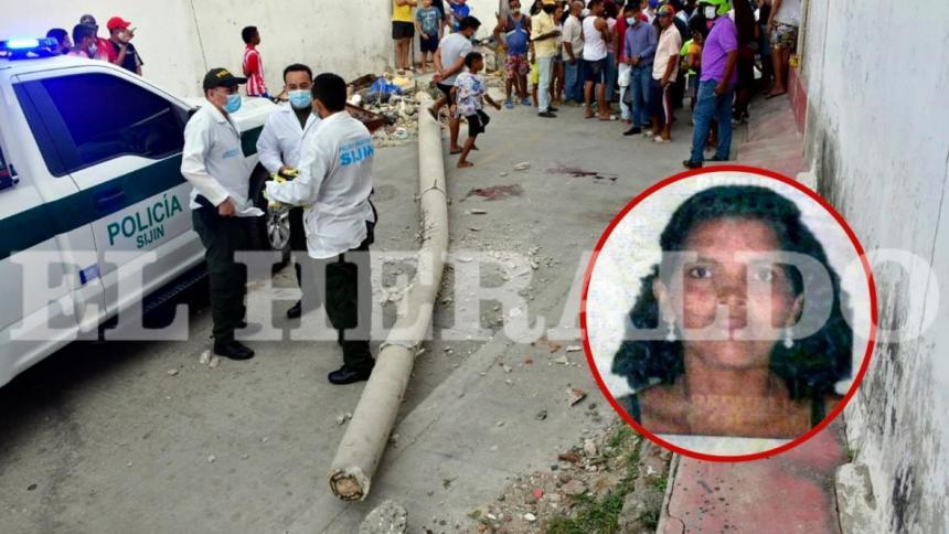 Mujer que murió tras caerle un poste acababa de cobrar Familias en Acción