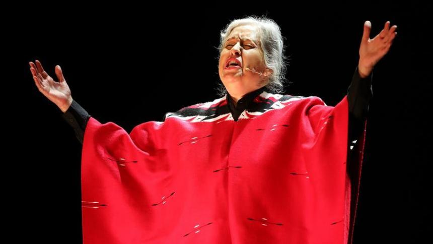 Musical sobre Chavela Vargas revive al teatro en Bogotá