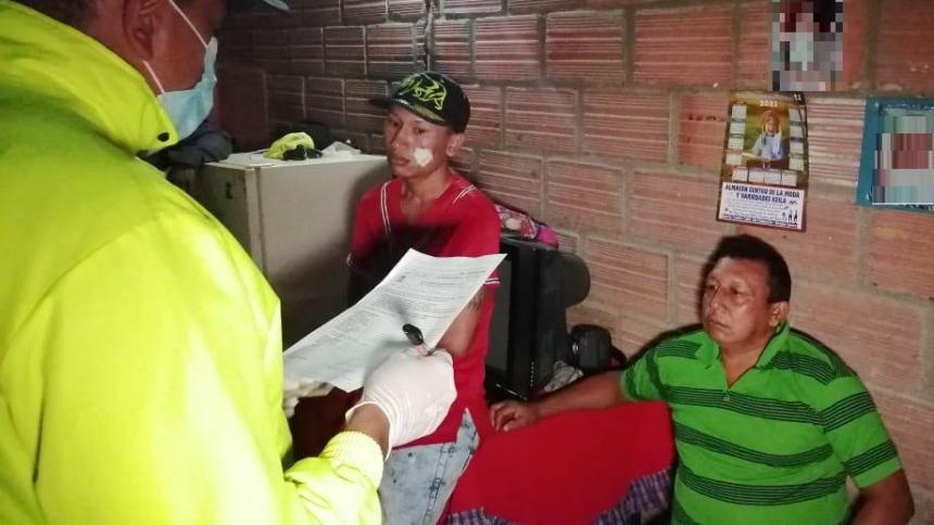 Capturan a cuatro expendedores de drogas en Ovejas, Sucre