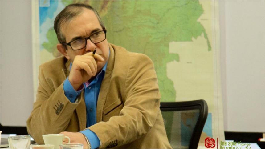 'Timochenko' pide ayuda al Congreso de EE. UU. para implementación de la paz