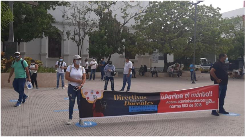 Docentes del sur de Córdoba exigen celeridad en nombramientos