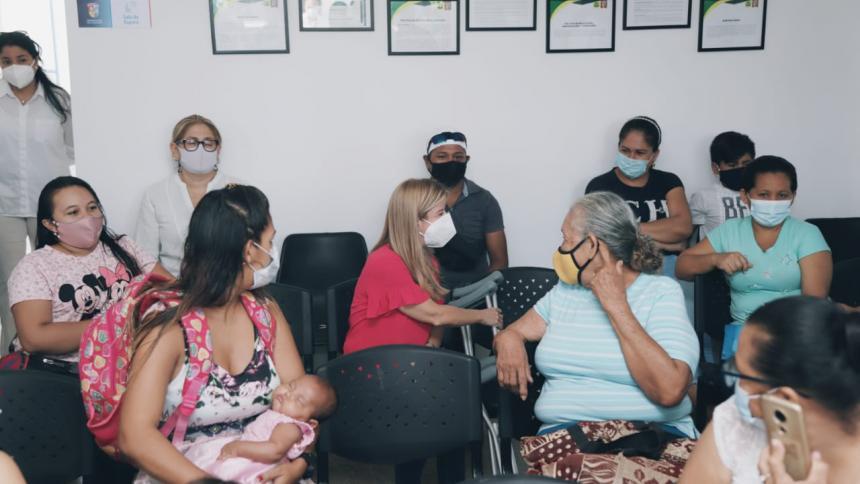 Gobernadora entregó 4 puestos de salud en Sabanalarga