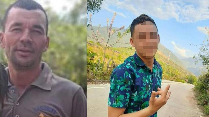 A lomo de mula bajaron cuerpos de padre e hijo asesinados en Perijá