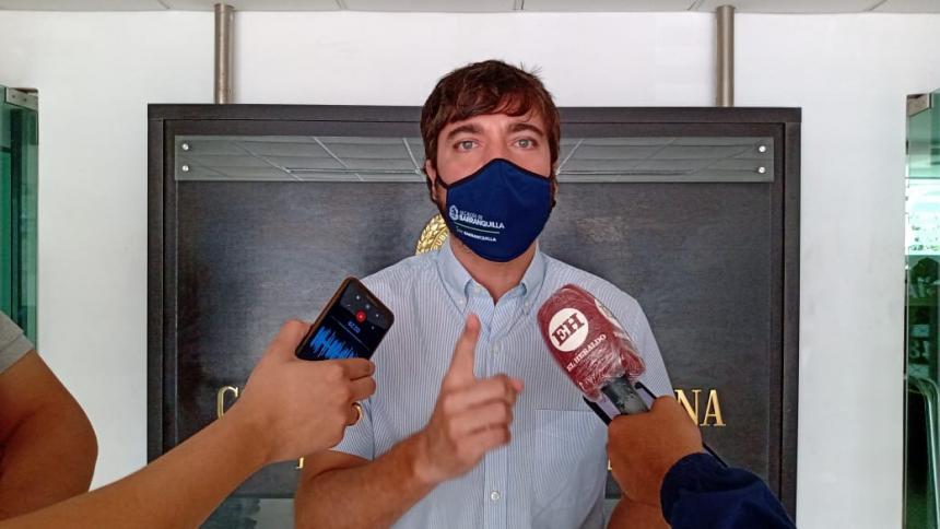 """""""En 40 días atacaremos a 40 criminales"""": Alcalde Pumarejo"""
