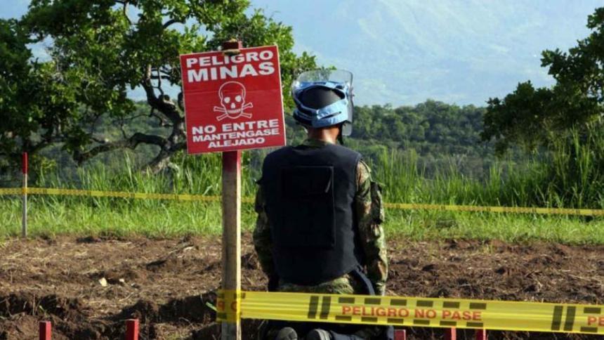 Minas antipersonal: un enemigo silencioso