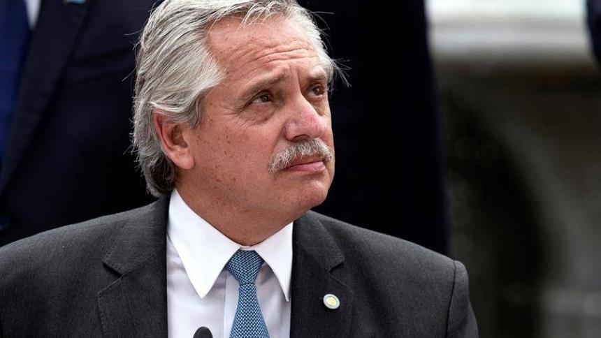 """El presidente argentino es un paciente """"asintomático"""" de covid-19"""