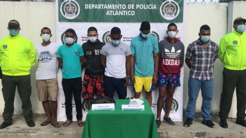 A la cárcel presuntos jíbaros de Candelaria, Atlántico